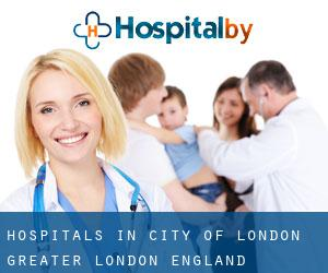hospitals in City of London (Greater London, England)