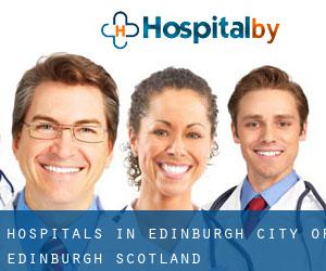 hospitals in Edinburgh (City of Edinburgh, Scotland)