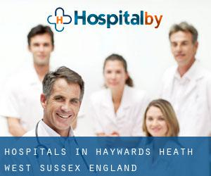 hospitals in Haywards Heath (West Sussex, England)