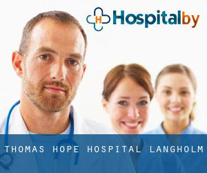 Thomas Hope Hospital (Langholm)